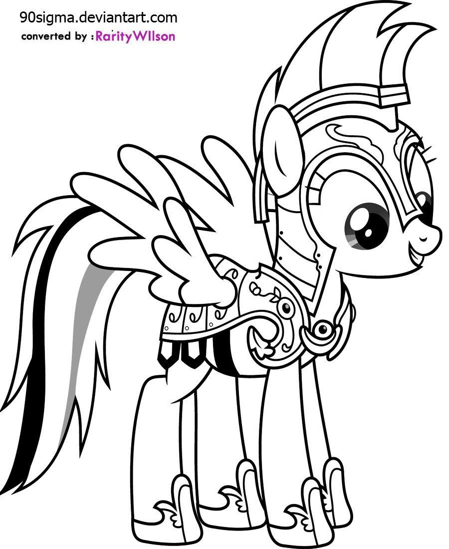 My Little Pony Coloring Pages My Little Pony Rainbow Dash Coloring Pages In 2020 My Little Pony Coloring My Little Pony Printable Animal Coloring Pages