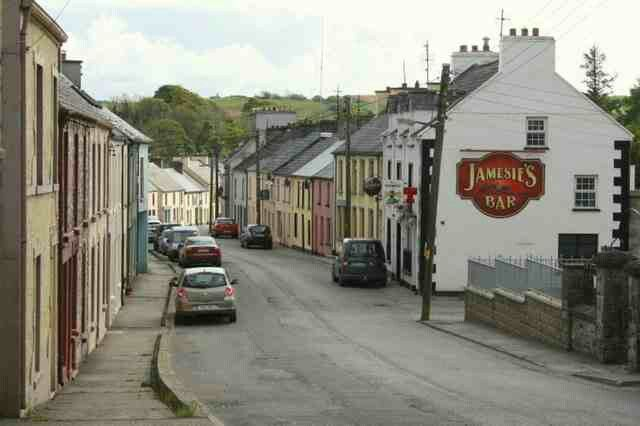 Jamsies Bar, Ballintra, County Donegal. Where the stuffed derriere ...