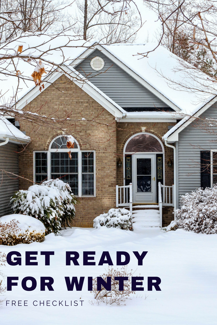 Preparing For Winter Curb Appeal Winter Lawn House Siding