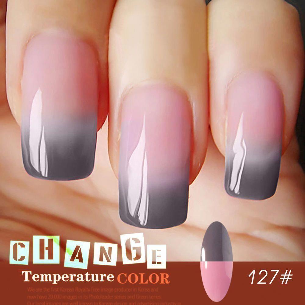 Perfect Summer Soak Off Temperature Change Color Gel Nail Polish Uv Led Lamp Gel Health Beauty Nail Care Manicura De Unas Unas Postizas De Gel Unas De Gel