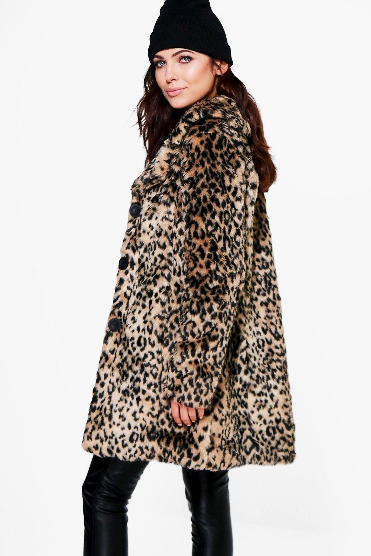 846ce00218be9 Anna Leopard Print Faux Fur Coat | ~ fashion ~ | Fur Coat, Faux fur, Fur