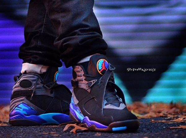 énorme réduction 61a8f a2ace Air Jordan 8 Aqua Retro 2015 pas cher - @str8outtajersey3 (1 ...