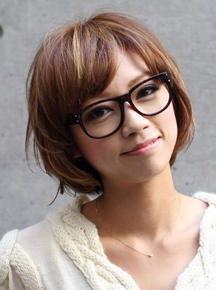 Back To Post Short Hairstyles For Women With Glasses Say Bye