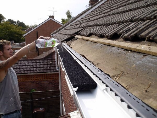Gutter Foam Why This Product Doesn T Work Daniel S Roof Gutter Foam Gutter Foam