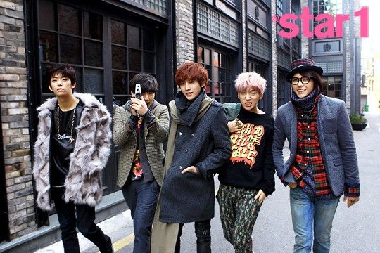Colorful B1A4! #b1a4