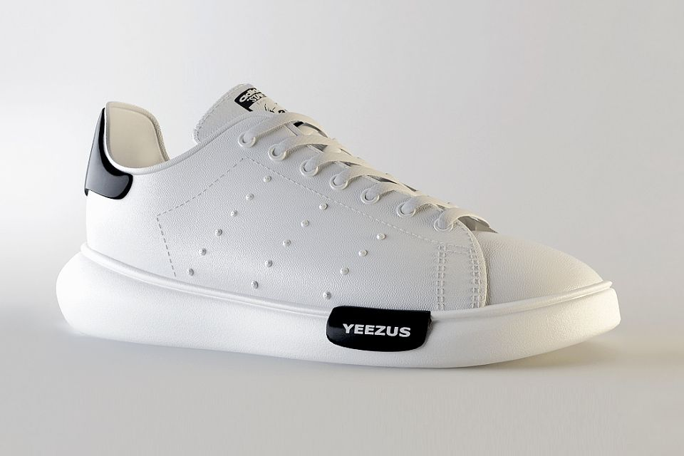 a7d1db9d6c772 Imagining the adidas x Kanye West Stan Smith