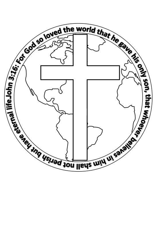 John 3 16 Coloring Printables Myideasbedroom Com Sunday School Coloring Pages Bible Coloring Pages Valentine Coloring Pages