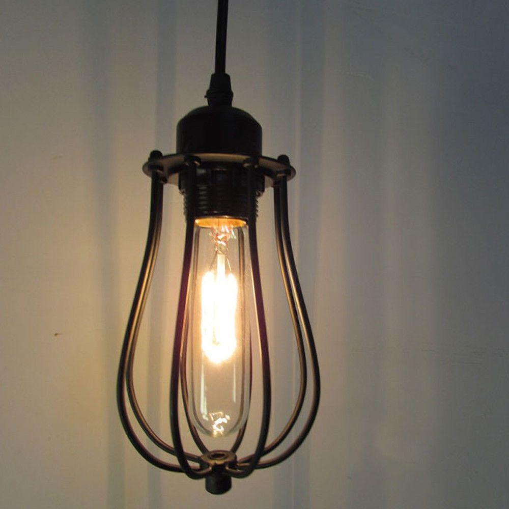 Industrial Vintage Ceiling lamp Chandelier pendant Light Metal Fixture Light new