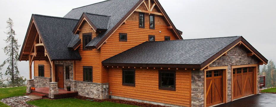here are many different styles of wood siding used on Chicagoland ...