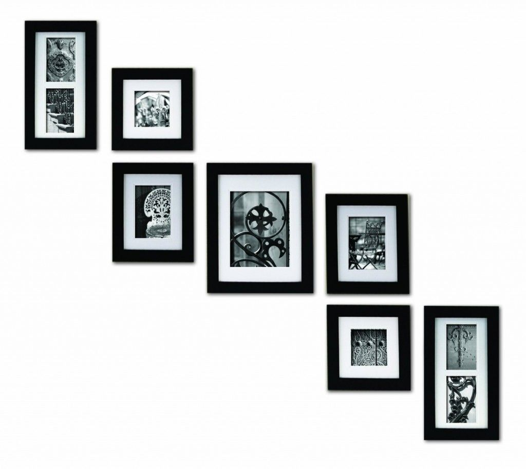 Frames On Wall, Picture Frame Arrangements