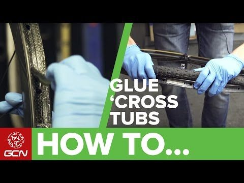 How To Glue Tubular Cyclocross Tyres | Bike Maintenance - YouTube