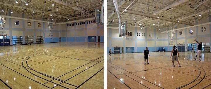 Indoor Basketball Gym Indoor Basketball Courts In Rimac S Auxiliary Gym Indoor Basketball Court Indoor Basketball Basketball Court
