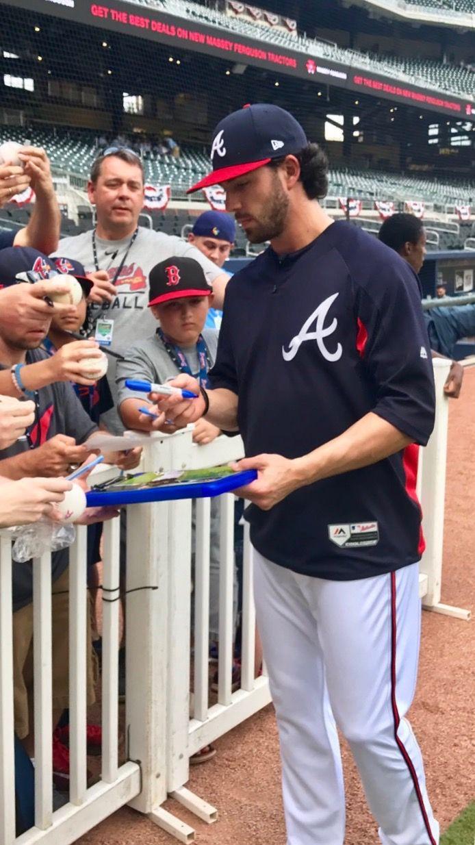 Swanson Atlanta Braves Braves Baseball Braves