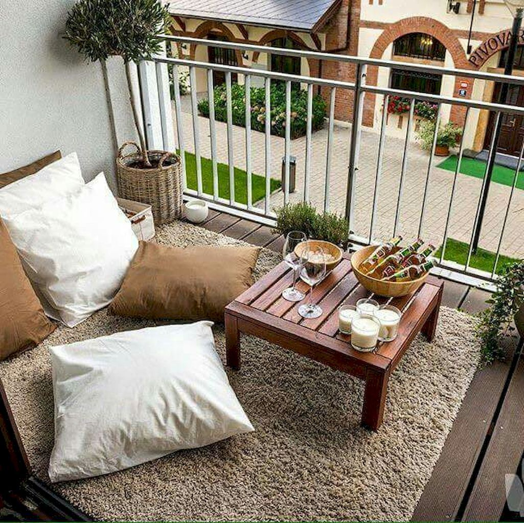 Modern Furniture 2014 Clever Furniture Arrangement Tips: 50 Small Apartment Balcony Decorating Ideas (With Images