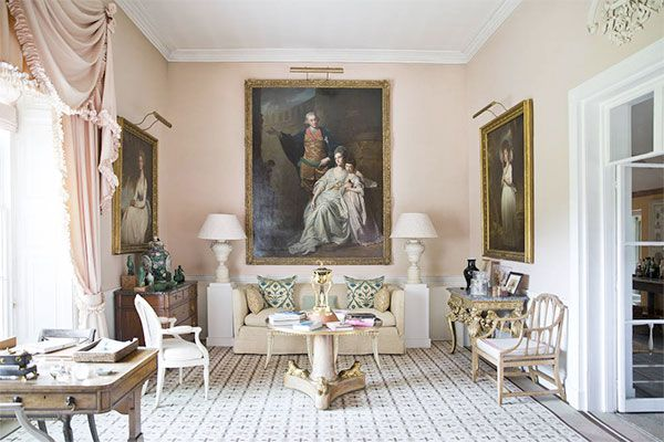 at home with india hicks the grove oxfordshire David hicks