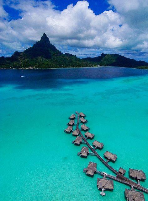 December In Bora Bora Kap Dec 20 2009 Bora Bora Resorts Places To Travel Resort