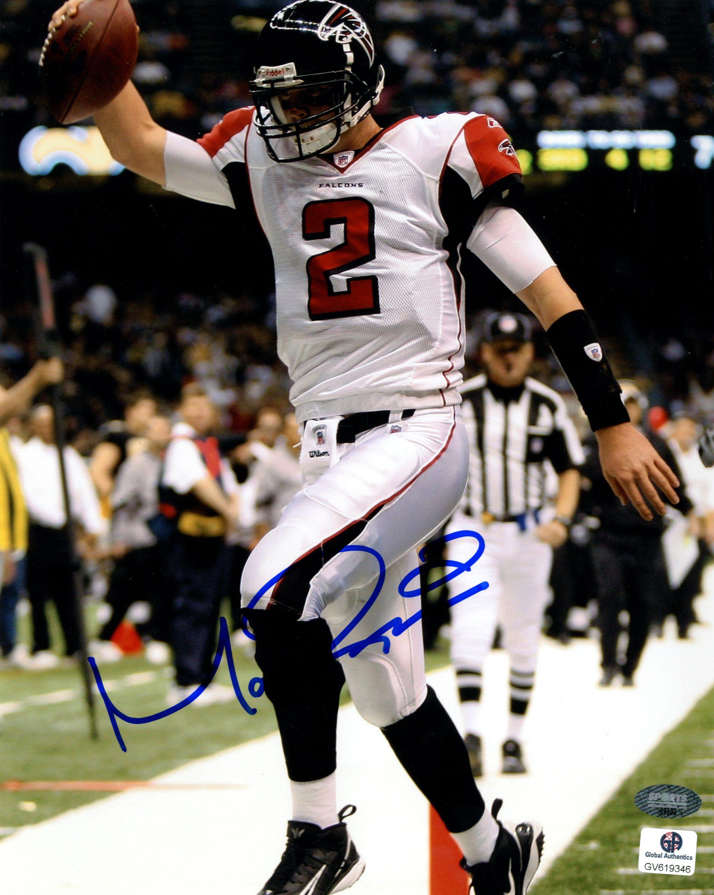 Signed Matt Ryan Photo 8x10 Ga Sports Memorabilia Mattryan Atlantafalcons Sportsmemorabilia Atlanta Falcons Atlanta Falcons Logo Falcons
