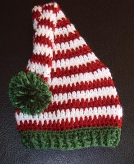 christmas crocheting | Candy Cane Stripes Christmas Crochet Elf by ...
