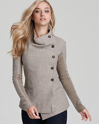 564df88488e66 Elizabeth and James Long Sleeve Jacket - oooo love love this ...
