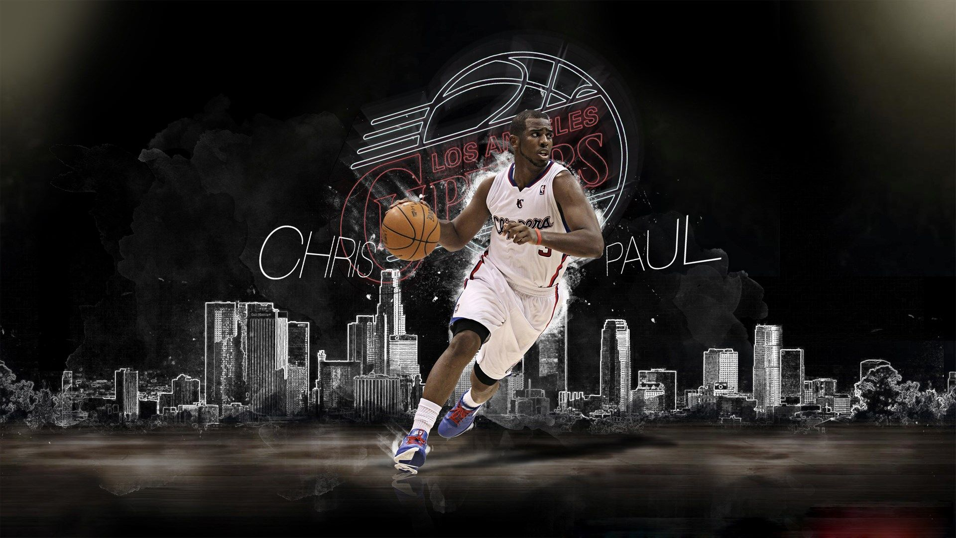 Chris Paul Clippers Comeback Wallpaper