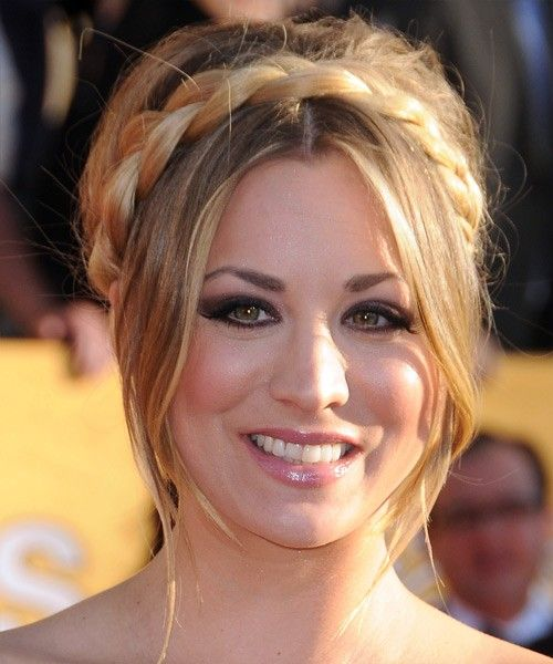 Kaley cuoco formal updo hair pinterest formal updo updo view and try on this kaley cuoco updo long straight formal hairstyle medium blonde ash pmusecretfo Image collections