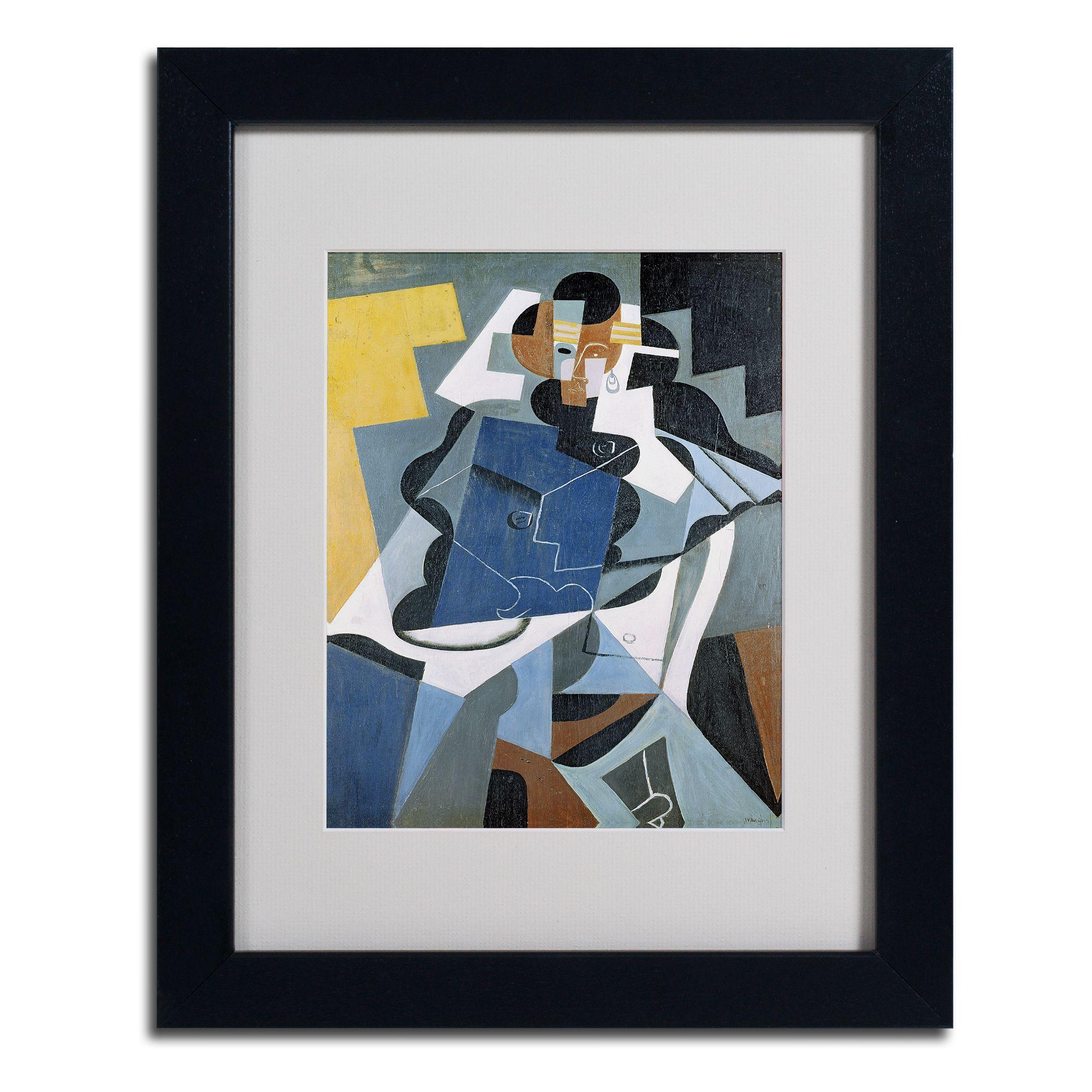 Juan Gris \'Figure of a Woman\' Framed Matted Art | Products | Pinterest
