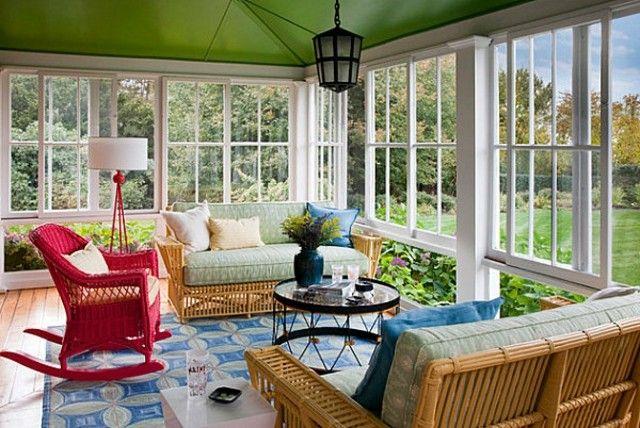 decoracin de terrazas con varios colores vivos - Decoracion De Terrazas