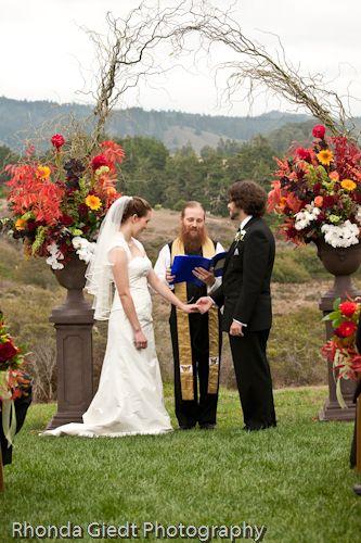 Wedding at Castanoa Resort in Pescadero California