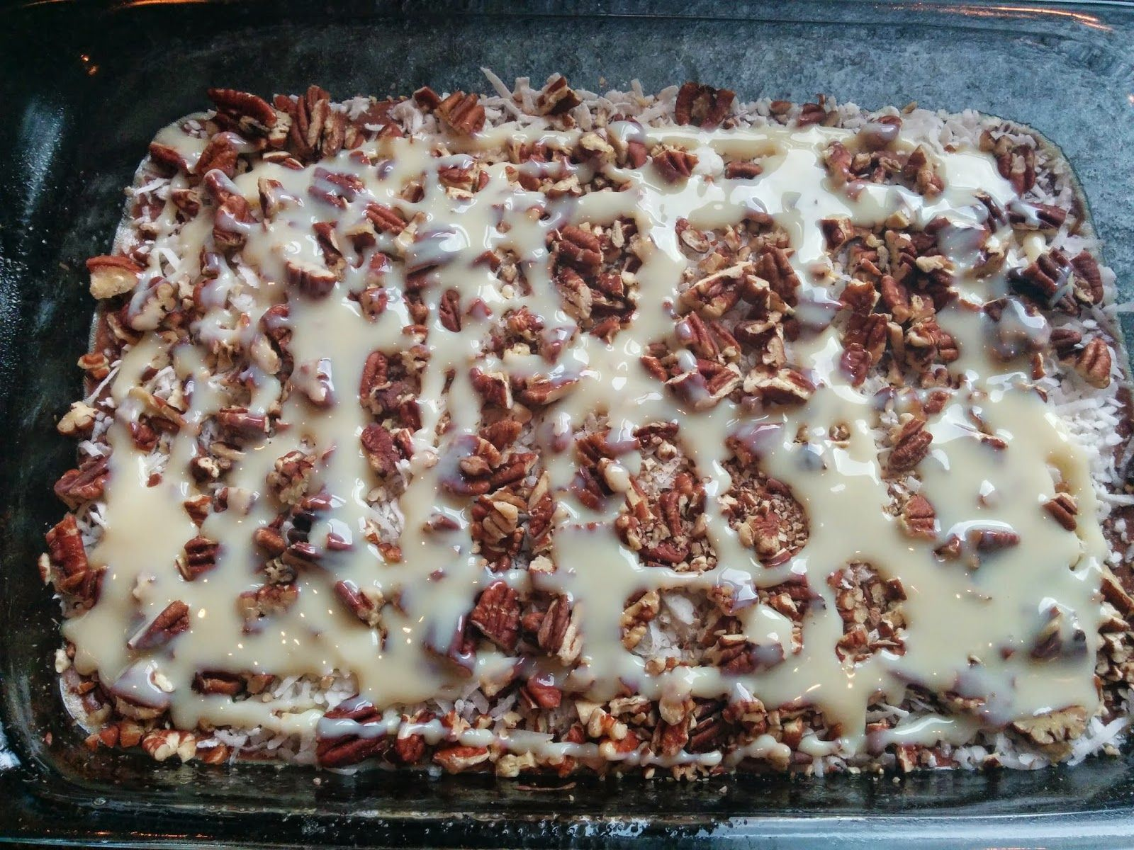 Got it cook it german chocolate dump cake cake pinterest got it cook it german chocolate dump cake easy mixed drinks condensed milk forumfinder Image collections