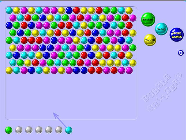 Bubble shooter screenshot Bubble shooter, Bubbles