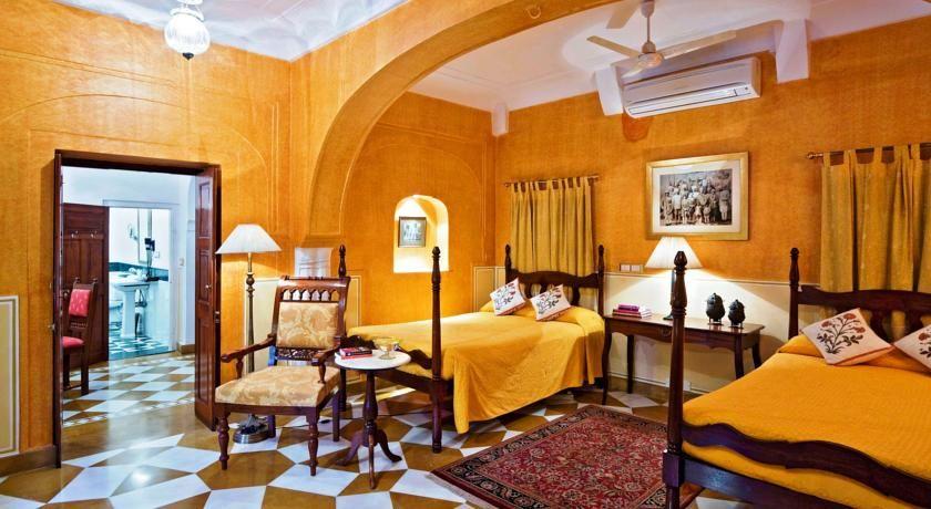 Samode Haveli, Photo of the whole room, Bedroom