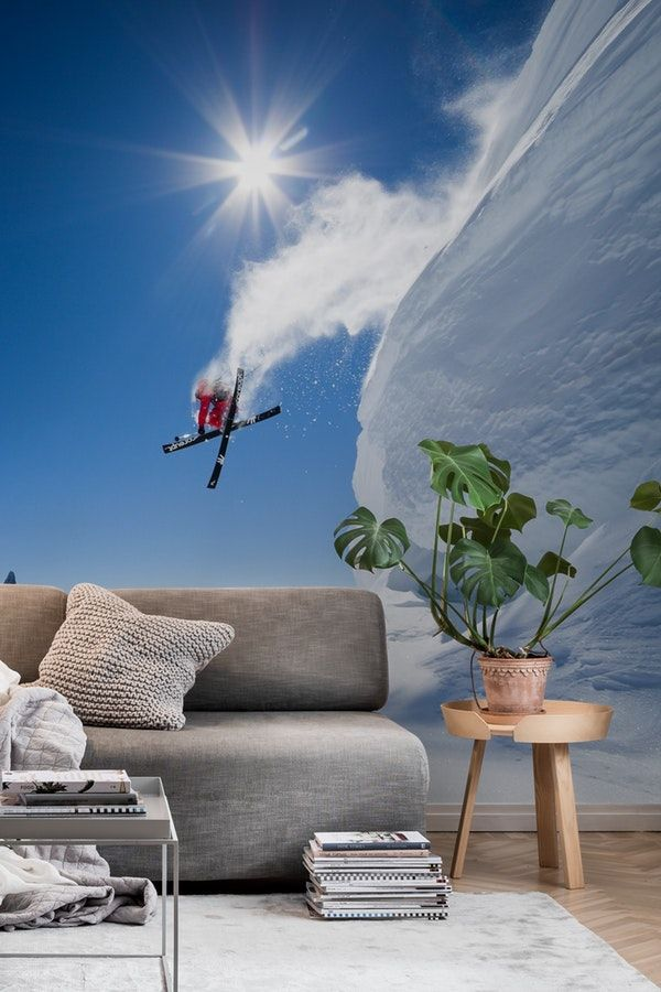 Higher Wall Mural / Wallpaper Sports High walls, Wall