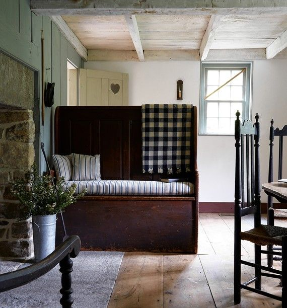 Restoring an 18th century farmhouse as a guesthouse for 18th century farmhouse interiors