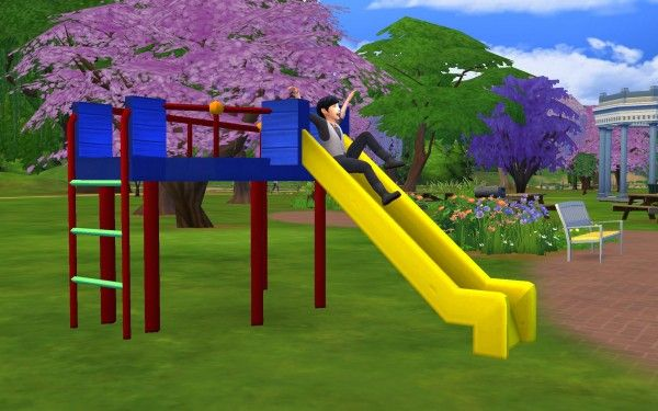 Simsworkshop: All Day Fun Slide by G1G2 • Sims 4 Downloads