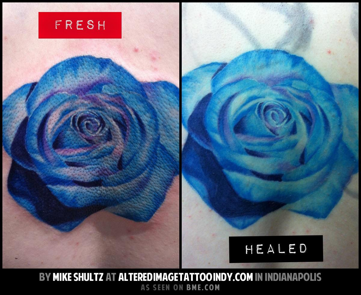 When Is Tattoo Healed: Tattoos- Fresh Vs Healed (Mike Schultz)