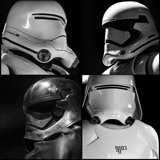 Faces of the First Order #thefirstorder #starwars #stormtrooper