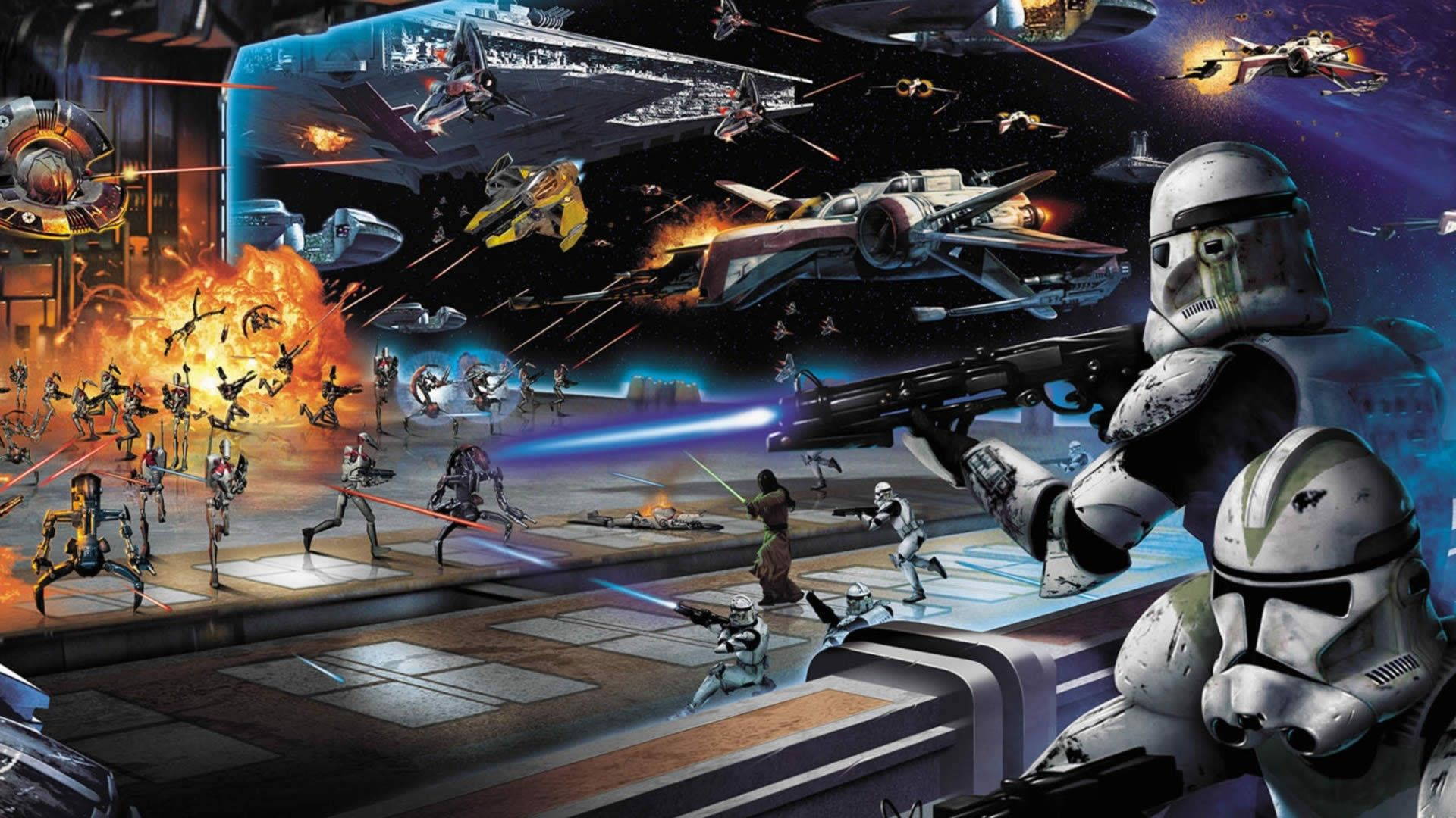 Star Wars Painting Images 40 Epic Star Wars Wallpapers Star