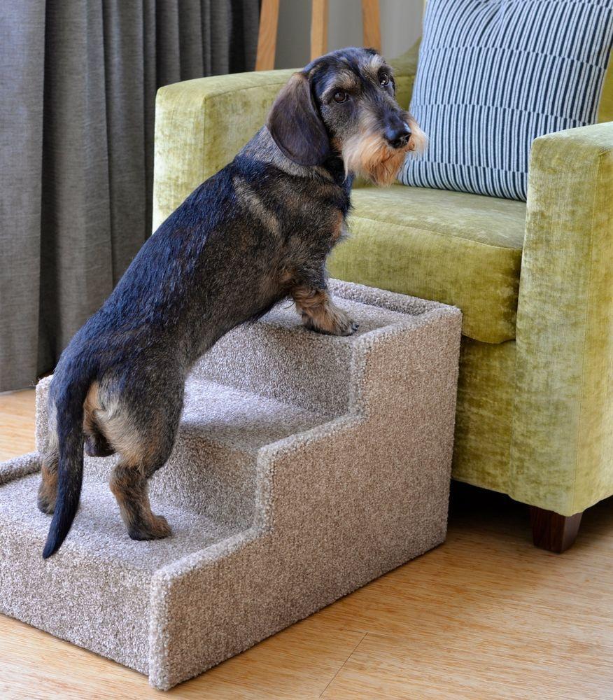 Details about Handmade Dog Steps Indoor Pet Cat Dog Bed