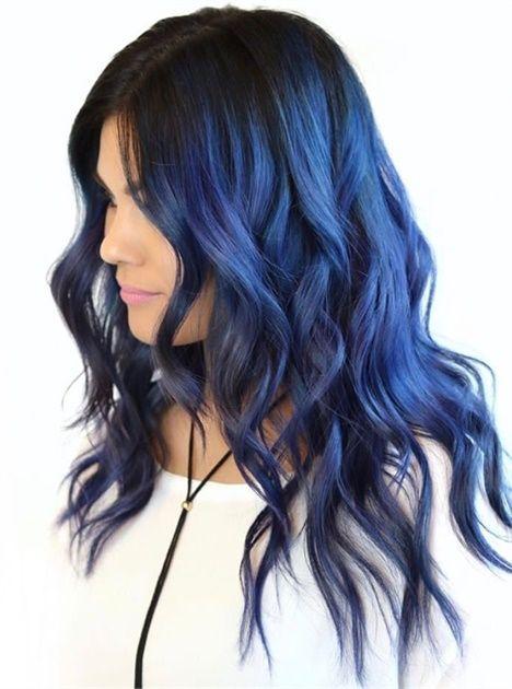 FORMULA: Dimensional Indigo Hair Color | Tonos de cabello, Color ...