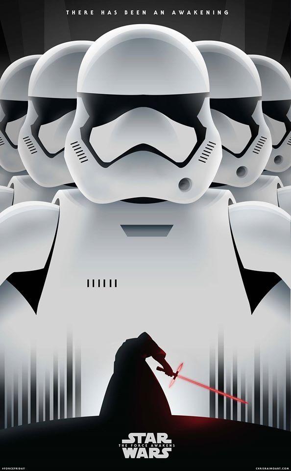 Star Wars: The Force Awakens by Chris Raimo ;-)~❤~
