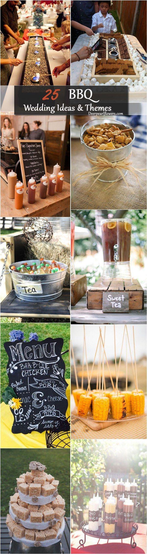 Wedding decorations garden theme december 2018 Top  Rustic Barbecue BBQ Wedding Ideas  Fall DEC Party
