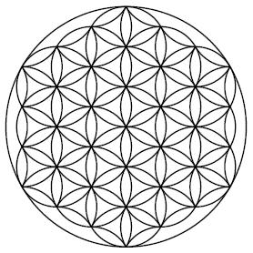File Flower Of Life Small Png Wikipedia The Free Encyclopedia Heilige Geometrie Geometrie Blume Des Lebens Vorlage