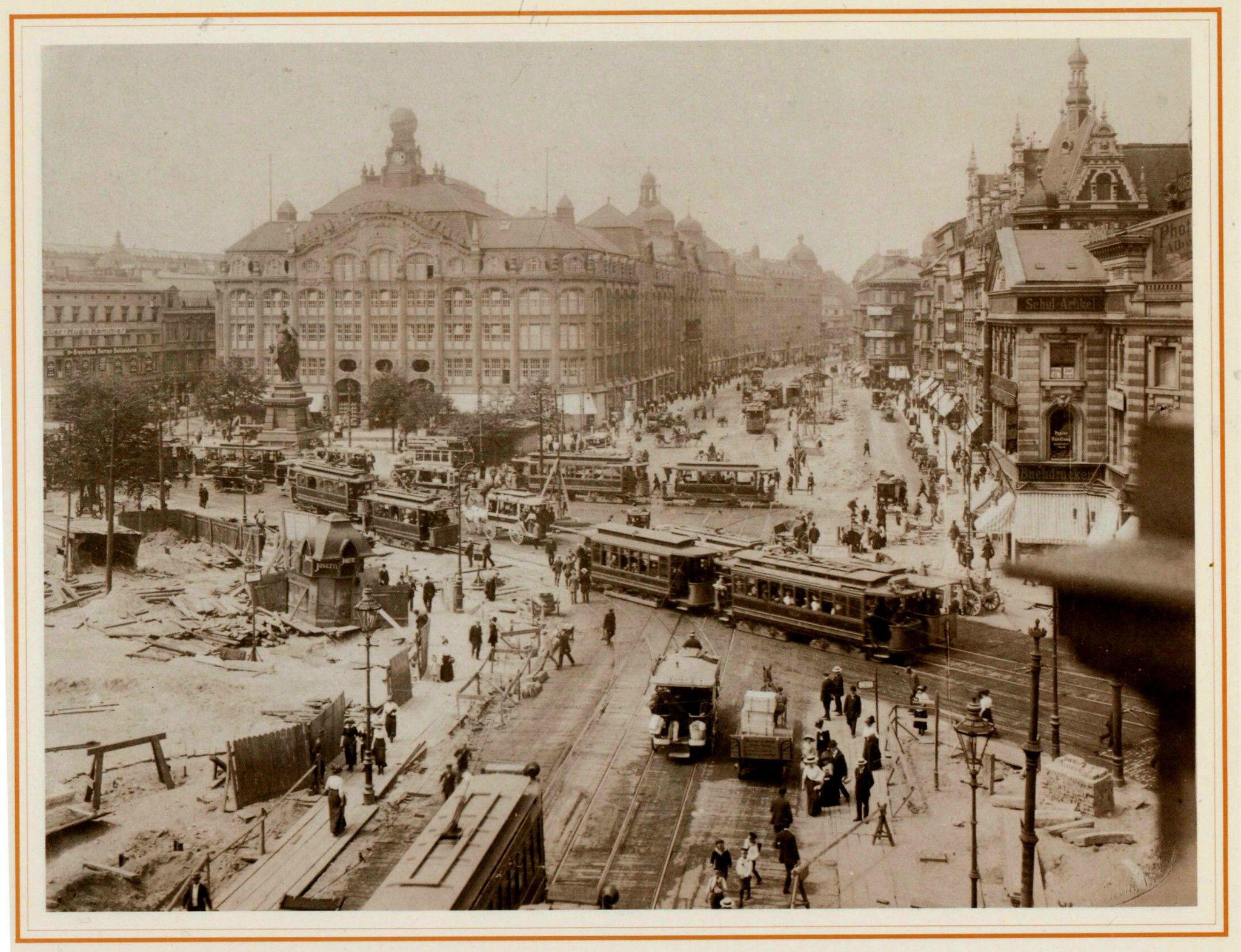 F Albert Schwartz Berlin 1913 Alexanderplatz Berlin Geschichte Historische Fotos Berlin Ubahn