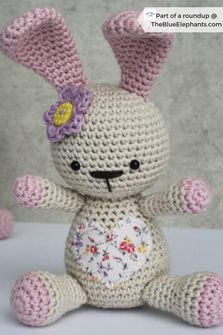 Crochet bunny amigurumi pattern | Crochet bunny pattern, Crochet ... | 1102x735