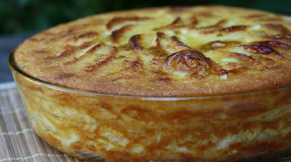 Recette régime : La tarte aux pommes de nos grands-mères fondante et onctueuse