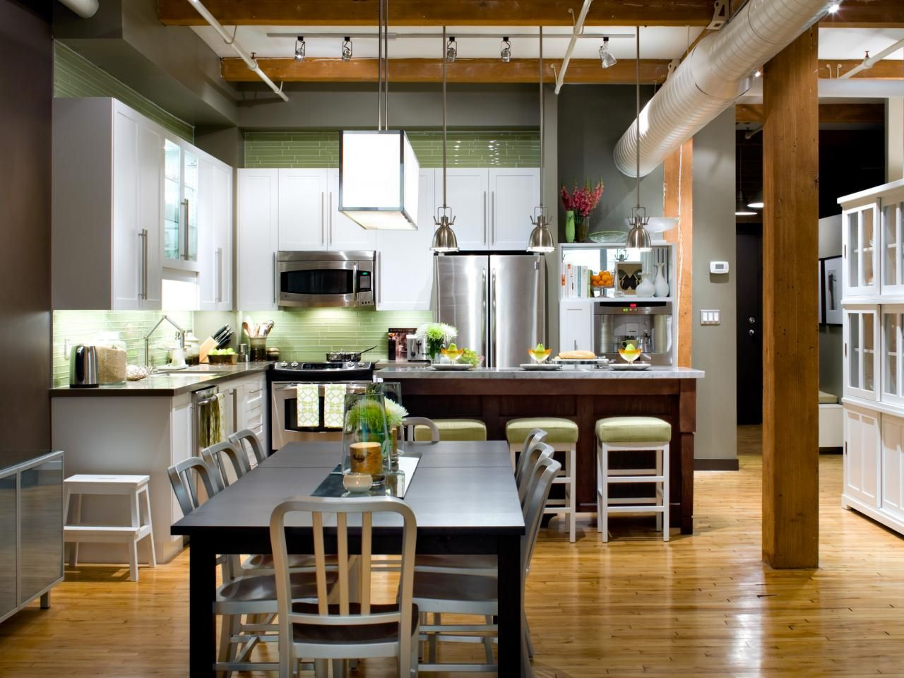 Lshaped Kitchen Design Pictures Ideas & Tips From  Picture Magnificent Small Kitchen Living Room Design Ideas Decorating Inspiration