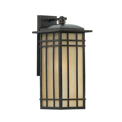 Lenox outdoor lighting elongated wall lantern medium frontgate