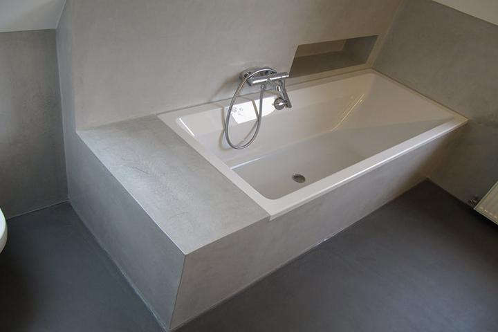 beton cire in de badkamer | Beton-Cire | Pinterest | Concrete ...