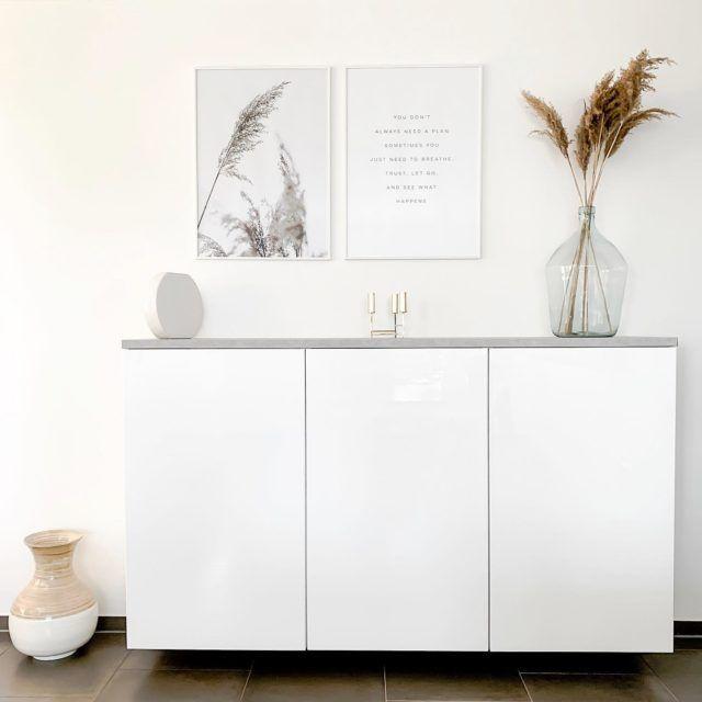 Ikea Hack – Metod Küchenschrank als Sideboard ⋆ elfenweiss