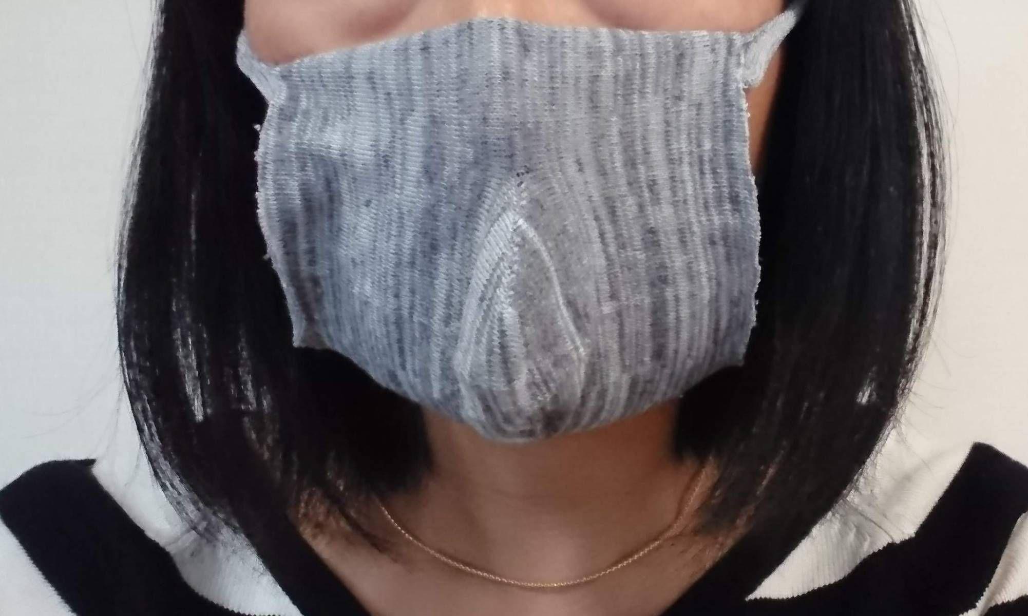 マスク 作り方 靴下
